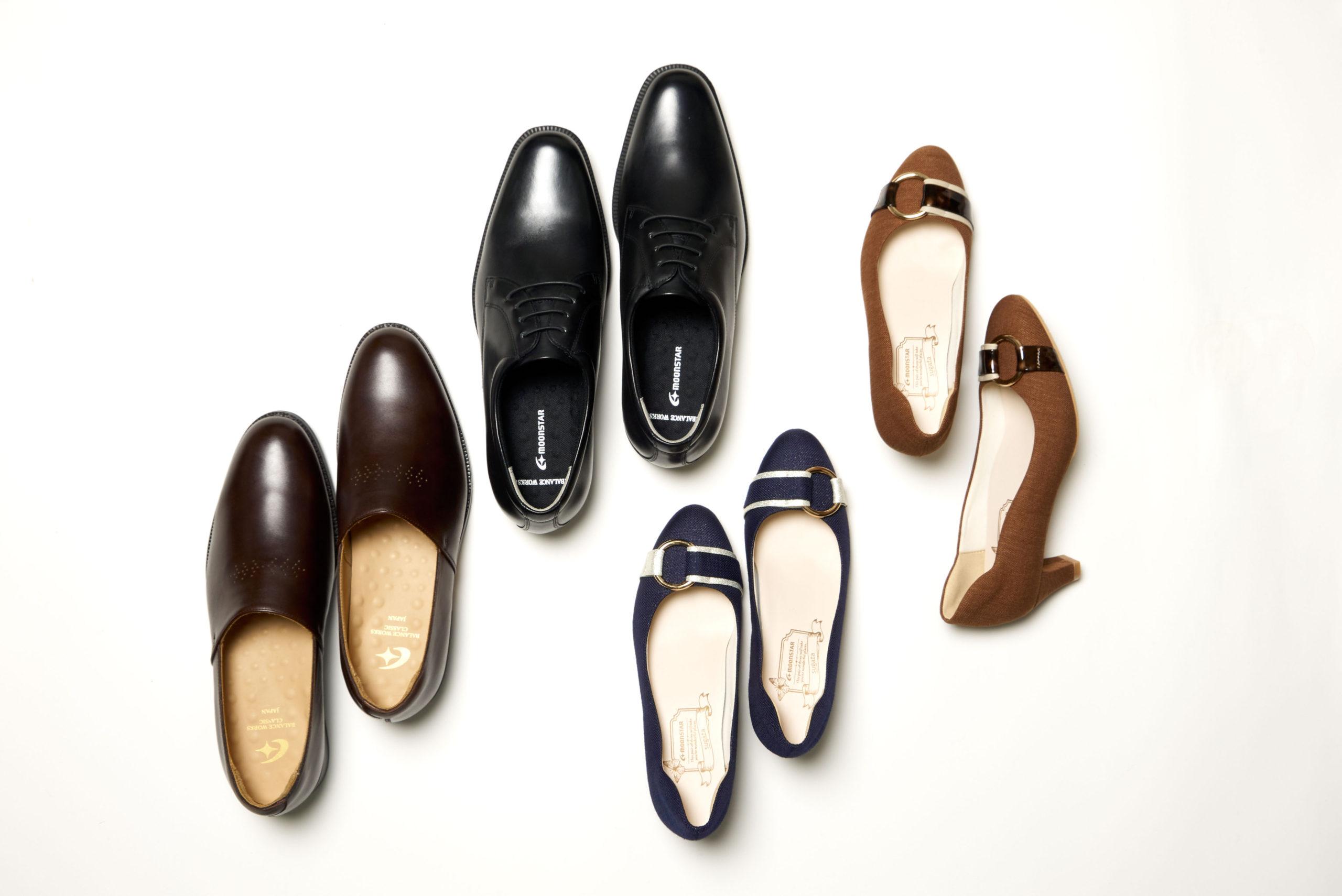 """ビジネスシーンをより快適に!ムーンスターの""""働き靴"""" 「バランスワークス」「スガタ」の快適機能を解剖!!"""